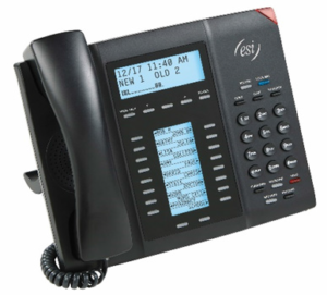 Esi 55 Business Phone Offers An Impressive Combination Of Power And Ease Of Use With 30 Programmable Feature Keys An Integrated Headphone Jack And A